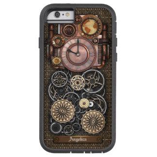 Reloj #2 Redux de Steampunk del vintage Funda Tough Xtreme iPhone 6