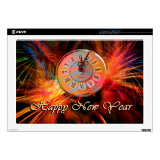 Reloj #3 del Año Nuevo Skins Para 43,2cm Portátiles