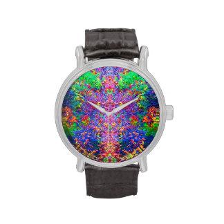 Reloj abstracto de la naturaleza