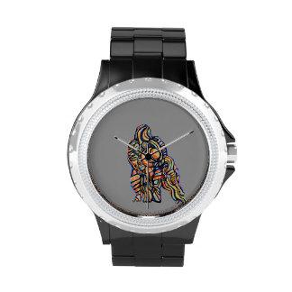 Reloj abstracto del gorila