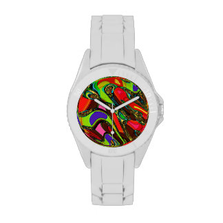 Reloj abstracto del modelo
