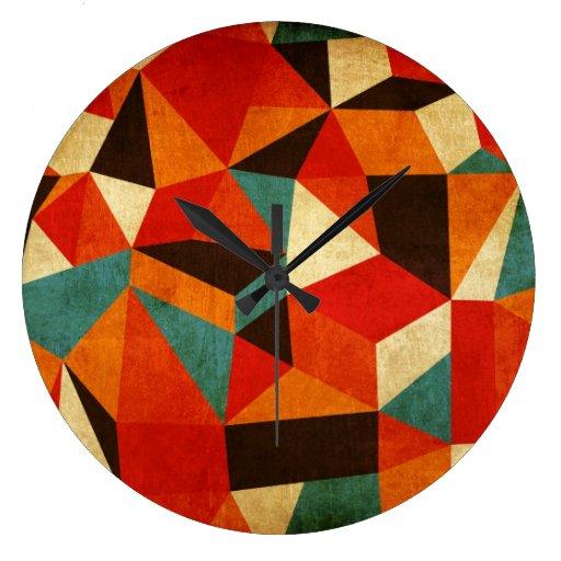 reloj abstracto del vintage