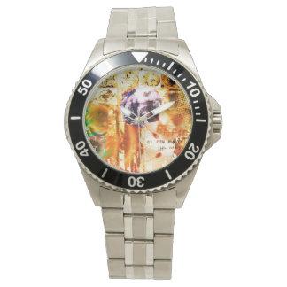 Reloj abstracto extraño