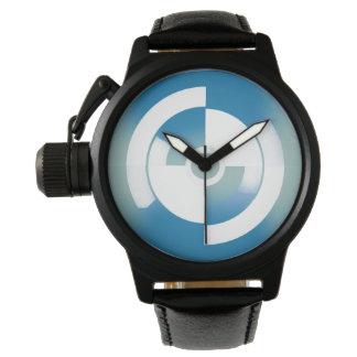 Reloj adaptable con el círculo abstracto