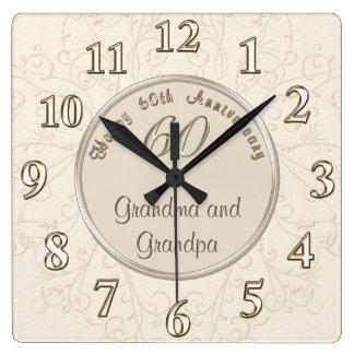 Reloj adaptable del aniversario para los abuelos
