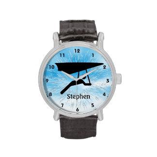 Reloj adaptable del diseño del ala delta