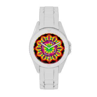 Reloj afortunado de la mandala