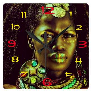 Reloj africano de la reina