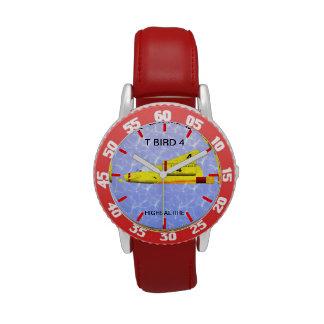 Reloj ajustable del acero inoxidable del bisel del