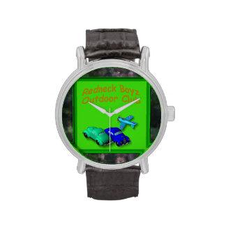 Reloj al aire libre del estilo del vintage del