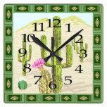 Reloj al sudoeste del cactus