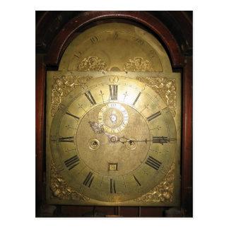 Reloj alto II del caso de Guillermo Tomlinson Postales