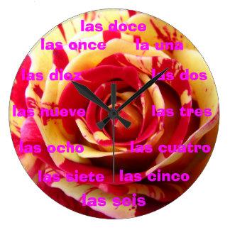 Reloj - amarilla de Dalia Rosa y del La