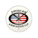 Reloj americano de LLP de la munición