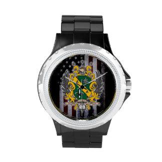 Reloj americano del delta alfa