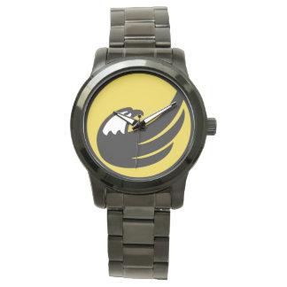Reloj americano libertario de Eagle los E.E.U.U.