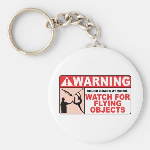 ¡Reloj AMONESTADOR para los objetos que vuelan! Llaveros Personalizados