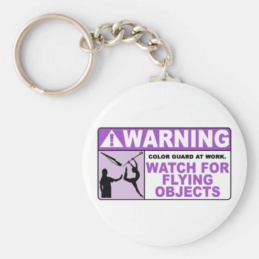 ¡Reloj AMONESTADOR para los objetos que vuelan! Llavero