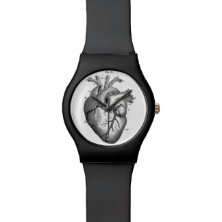 Reloj anatómico del corazón liso
