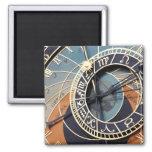 Reloj antiguo de Checo del reloj de la astrología Imán