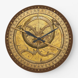 Reloj antiguo del astrolabio