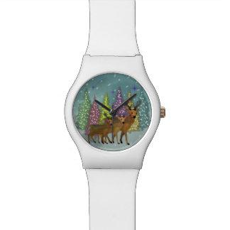 Reloj ártico del reno