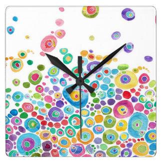 Reloj artístico del círculo íntimo