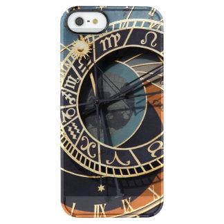 Reloj astrológico medieval antiguo Checo Funda Clearly™ Deflector Para iPhone 5 De Uncommon