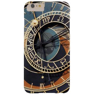 Reloj astrológico medieval antiguo Checo Funda De iPhone 6 Plus Barely There
