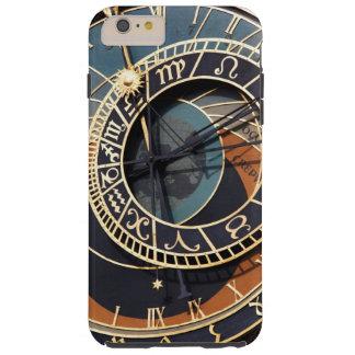 Reloj astrológico medieval antiguo Checo Funda De iPhone 6 Plus Tough