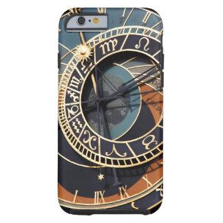Reloj astrológico medieval antiguo Checo Funda De iPhone 6 Tough