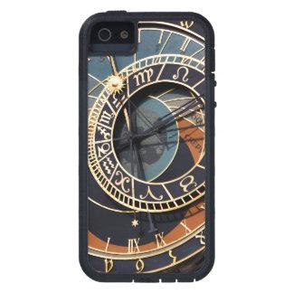 Reloj astrológico medieval antiguo Checo Funda Para iPhone 5 Tough Xtreme