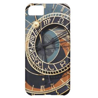 Reloj astrológico medieval antiguo Checo Funda Para iPhone 5C