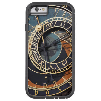 Reloj astrológico medieval antiguo Checo Funda Para iPhone 6 Tough Xtreme