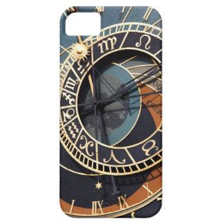 Reloj astrológico medieval antiguo Checo iPhone 5 Carcasas