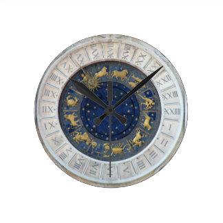Reloj astrológico, plaza San Marco, Venecia