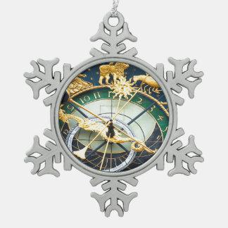 Reloj astronómico adorno