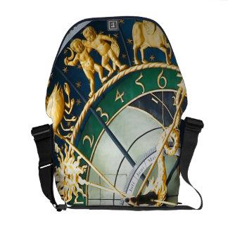Reloj astronómico bolsas messenger