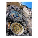 Reloj astronómico, ciudad vieja, Praga (2) Postal