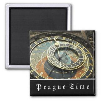 Reloj astronómico de Praga Imán De Frigorifico