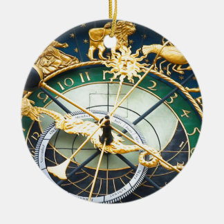 Reloj astronómico ornamentos de reyes magos