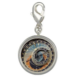 Reloj astronómico en Praga Dije Con Foto