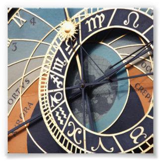 Reloj astronómico foto