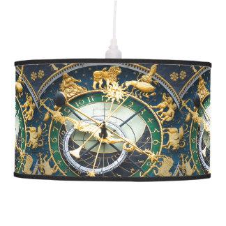 Reloj astronómico lámpara de techo