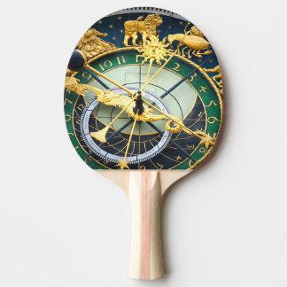 Reloj astronómico pala de ping pong