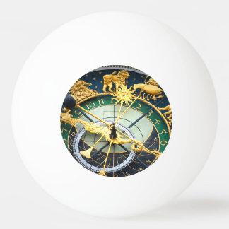 Reloj astronómico pelota de tenis de mesa