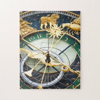 Reloj astronómico puzzle con fotos
