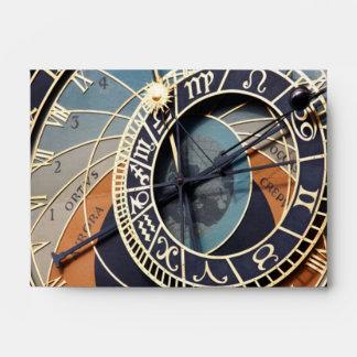 Reloj astronómico sobres