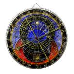 Reloj astronómico tabla dardos