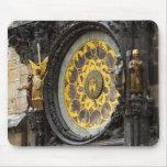 Reloj astronómico tapetes de ratones